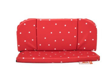 Babboe Kindersitz Rund Spotty Dots für Curve/City/Mini/Carve