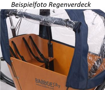 Babboe City Mountain Lastenrad grau