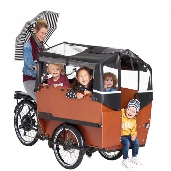 Babboe Max-E Kindertransporter für 6 Kinder
