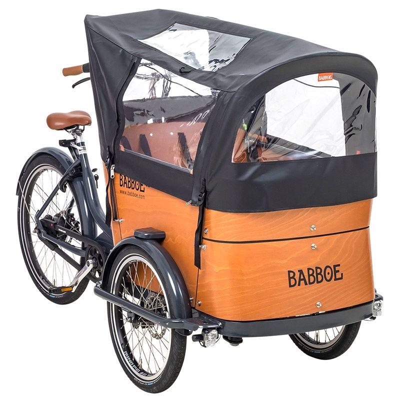 Verrassend Beo Lastenrad Shop - Babboe Regenverdeck Curve schwarz Mod. 2019 QB-23