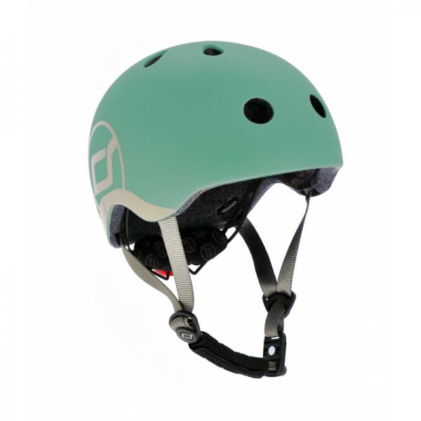 Scoot and Ride Helm XS Forest grün 45 - 51 cm